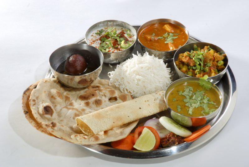 thali Dinner Indian Cuisine Rocket Meals